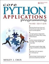 Core Python Applications Programming (3rd Edition) (Core Series)