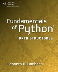 Fundamentals of Python: Data Structures
