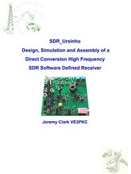 SDR_Ursinho: Design, Simulation and Assembly of a Direct Conversion High Frequency SDR Software Defined Receiver
