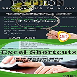 Python Programming in a Day & Excel Shortcuts