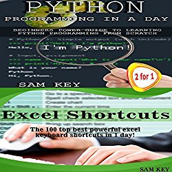 Python Programming Professional Made Easy & Excel Shortcuts: Programming #44