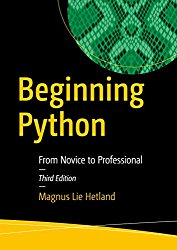 Beginning Python: From Novice to Professional 3rd Edition