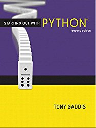 Starting Out with Python (2nd Edition) (Gaddis Series)