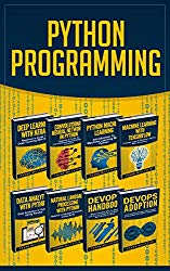 Python Programming: This Book Includes: Deep Learning With Keras, Convolutional Neural Networks, Machine Learning, Tensorflow, Data Analytics, Natural … Processing, DevOps Handbook AND Adoption