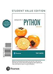 Starting Out with Python, Student Value Edition (4th Edition)